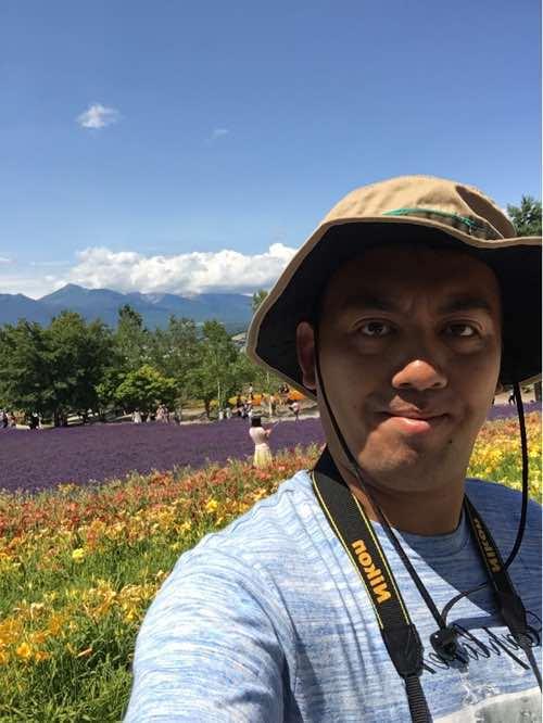 北海道に来ています #ランボー怒りのラベンダー