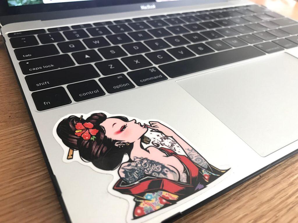 オレのMacBookカッコいい