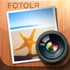[弐]iPhoneだけでブログを更新する為の3つの特選写真加工アプリ其の弐~写真にフレームや文字を追加しよう!~