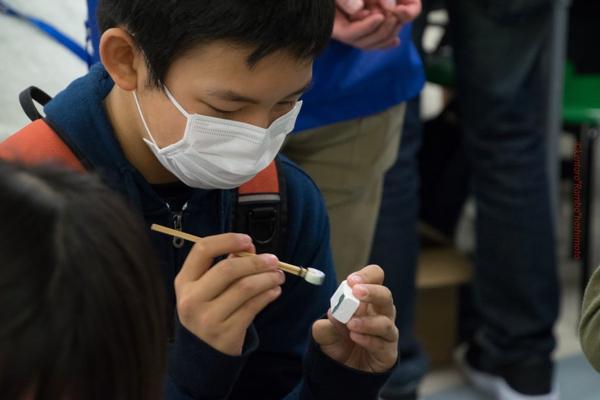 MOTTAINAI キッズタウン 東京でブローチ作りを体験をしたよ【PR】