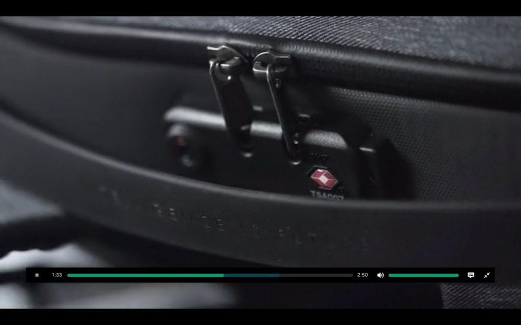 FlexPack Pro Security カギ付き
