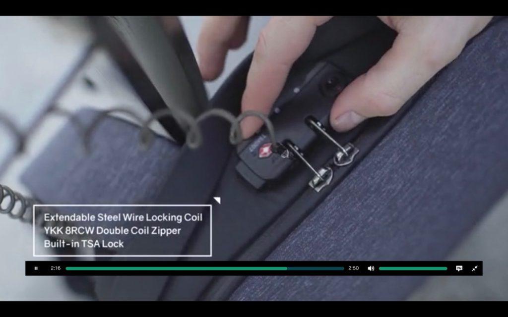 FlexPack Pro カギ Security