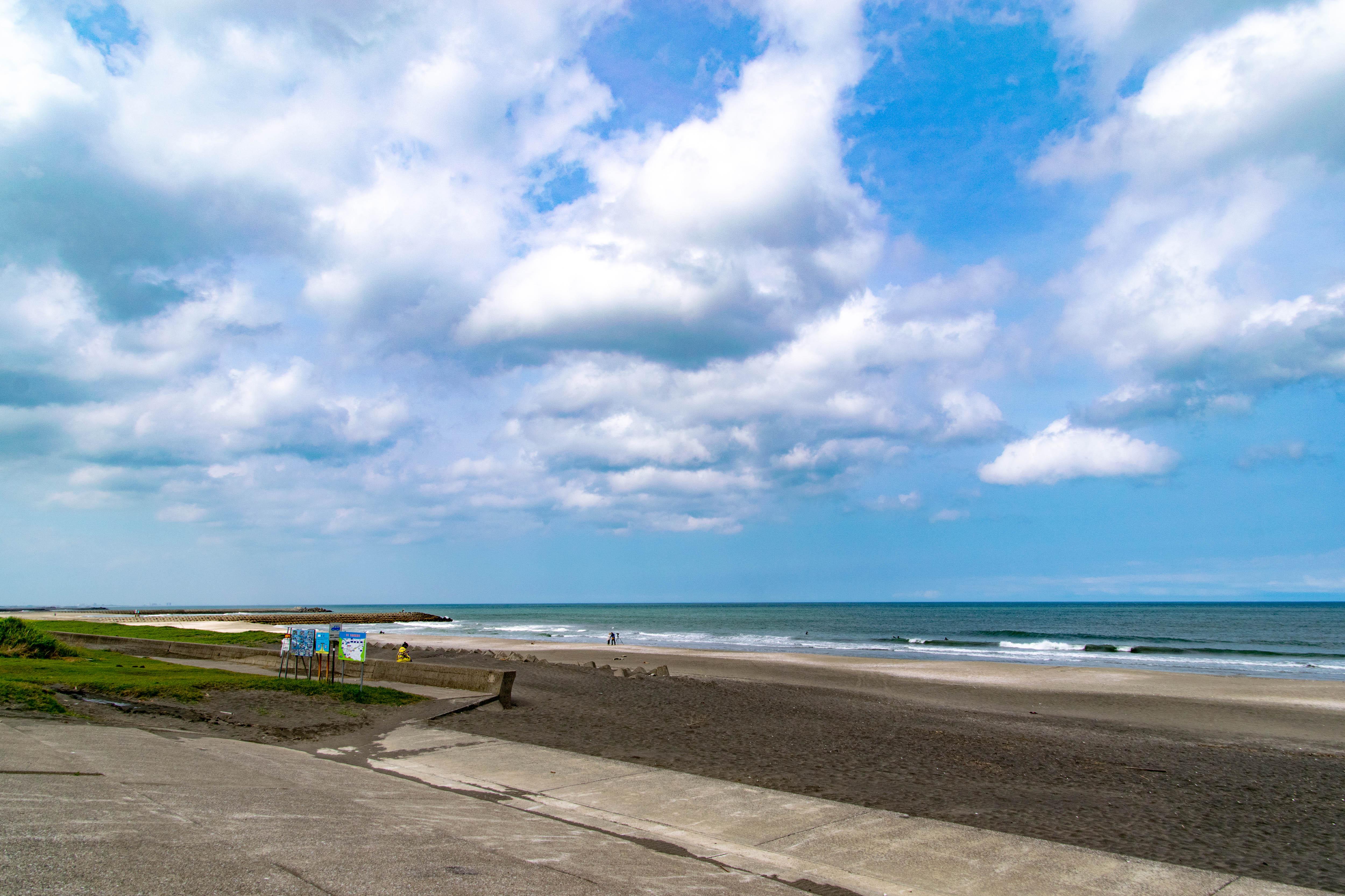 釣ヶ崎海岸 海