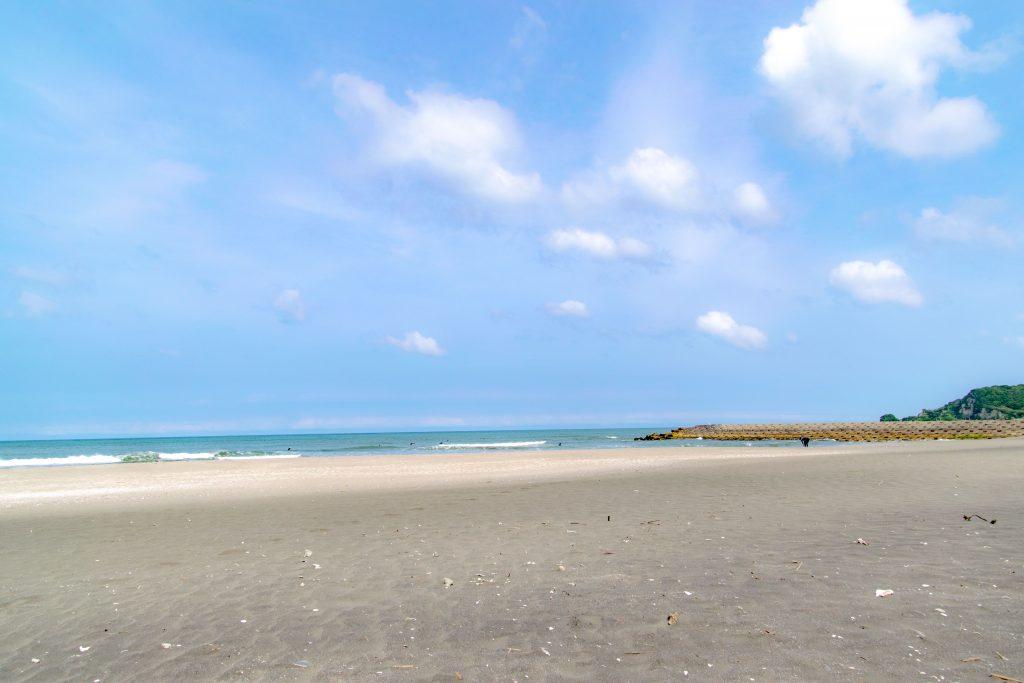 釣ヶ崎海岸 浜辺