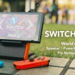 Nintendo Switch外付けスピーカーがバッテリーとスタンド機能も付いて割と無敵