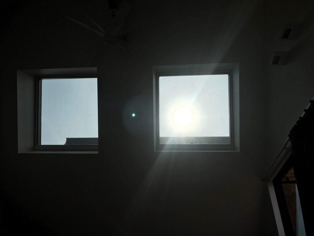 TENT 起床朝日