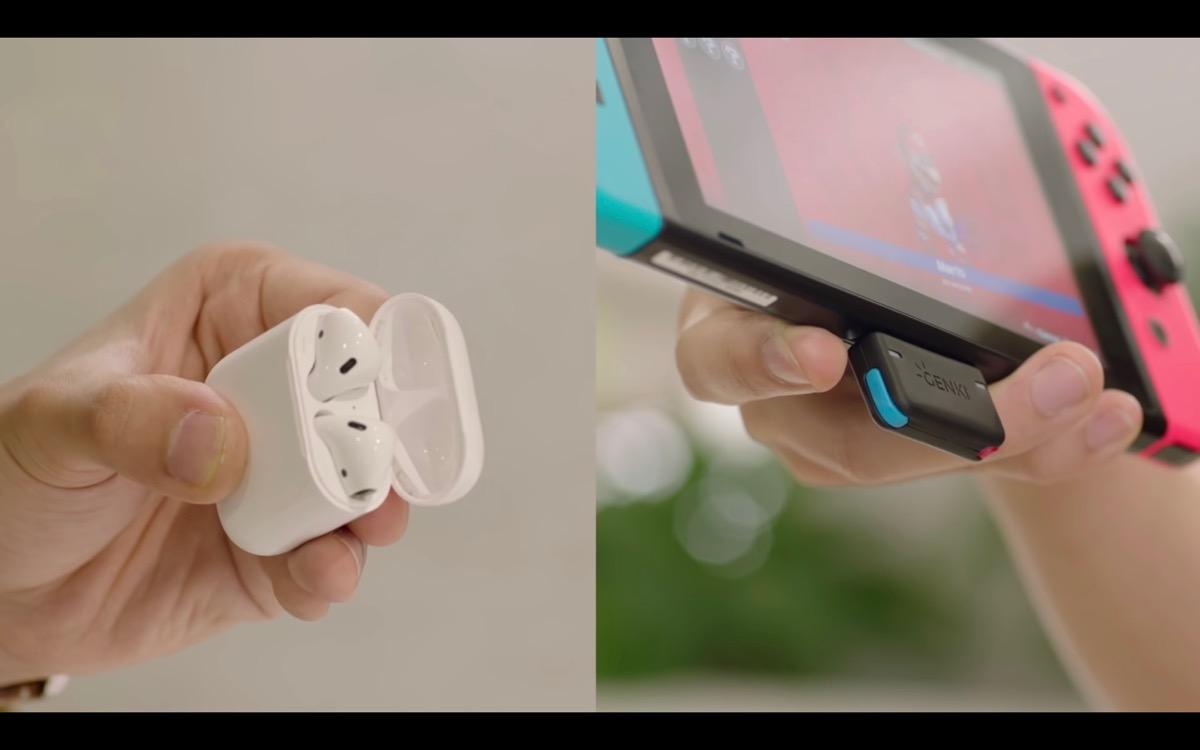 nintendoswitch Bluetoothイヤホン ワイヤレス