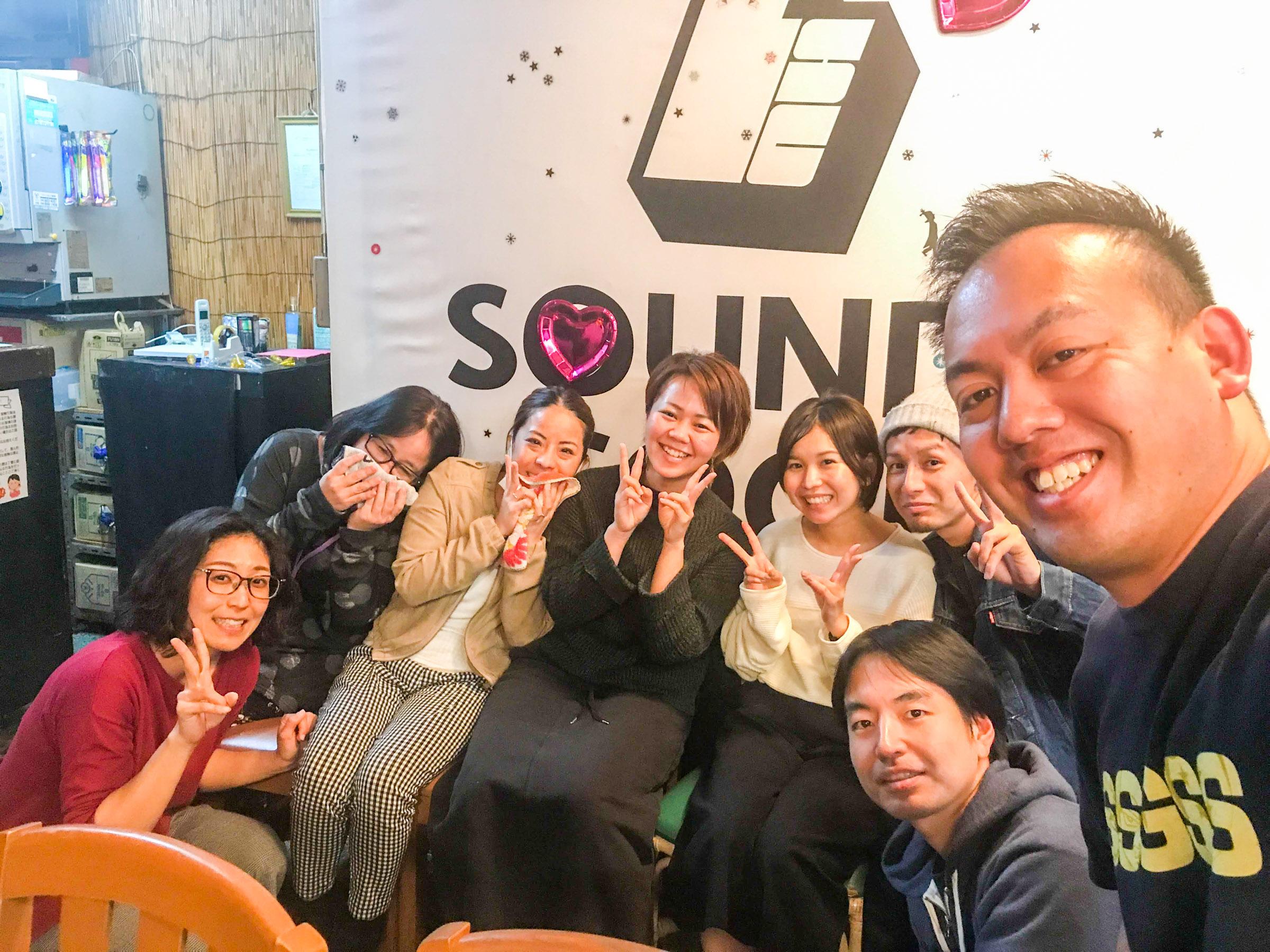 2019 2/3 沖縄 那覇SOUNDSGOODで #はしもとんの勉強会 を開催しました〜!ライティング、クラファン、音楽セッションイベントと盛りだくさん