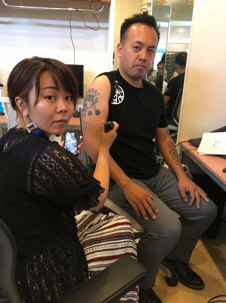 沖縄 ヘナタトゥー mimdrawing