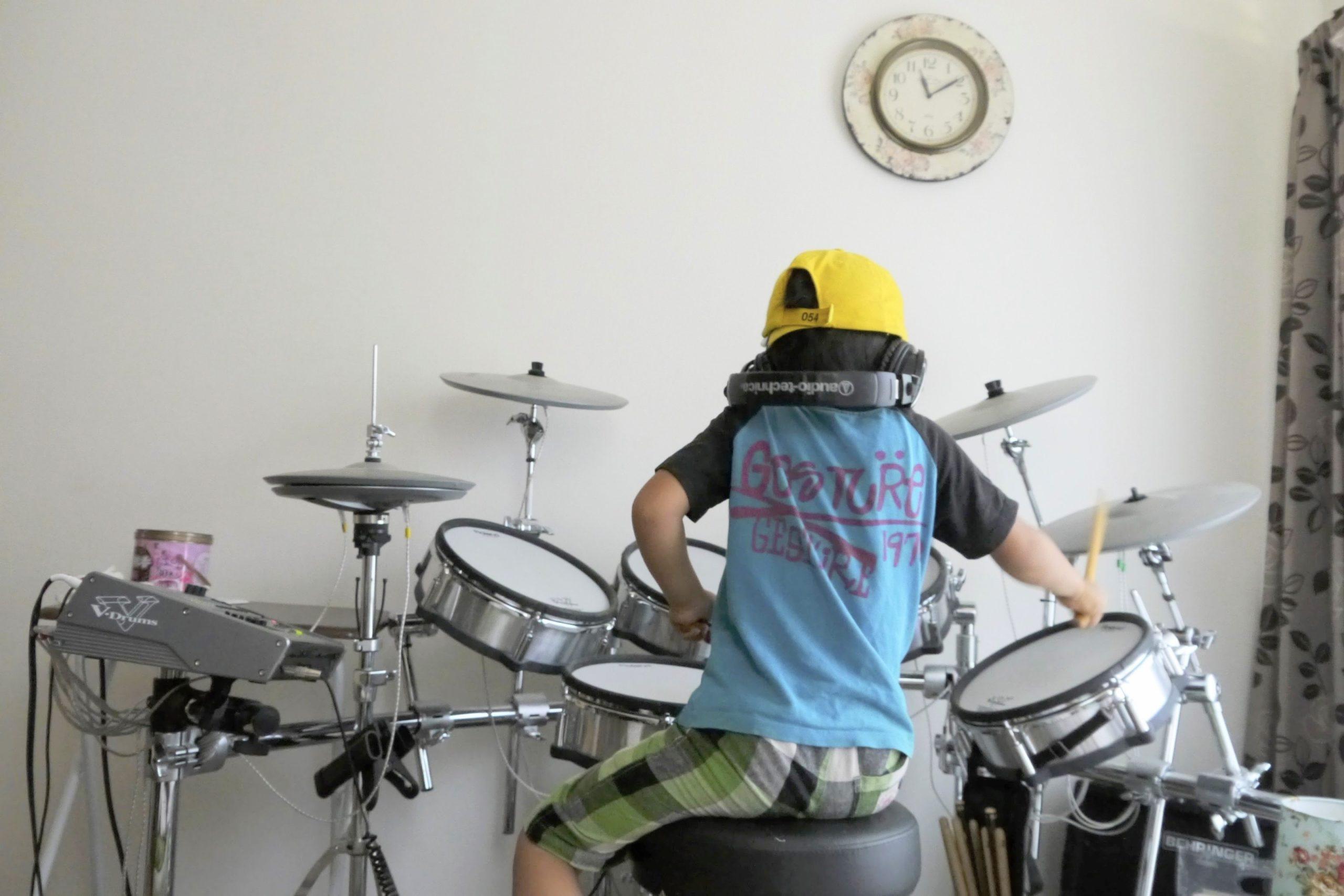 はしもとん ドラム