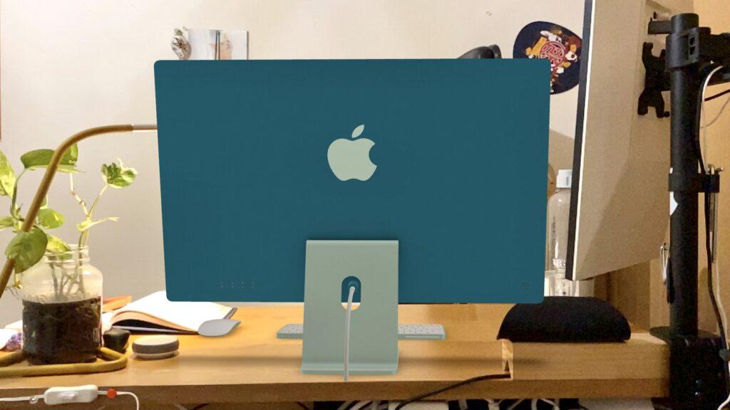 iMacがある部屋